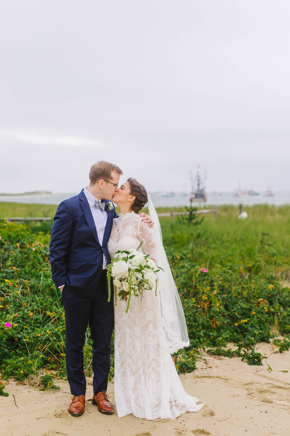 Chatham Bars Inn Cape Cod MA Rain Rainy Wedding with Dog - Emily Tebbetts Photography-9.jpg