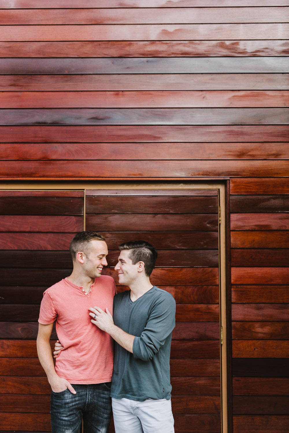 Fort Point Boston City Engagement Session ICA Childrens Museum LGBTQ same sex couple - Emily Tebbetts Photography-26.jpg