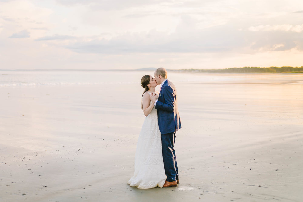 Kennebunk Kennebunkport Maine Wedding backyard beach sunset private estate new england - Emily Tebbetts Photography-25.jpg