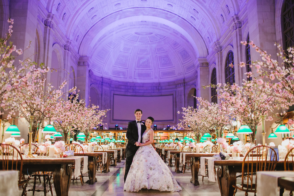 Boston Public Library Wedding.Blog Emily Tebbetts