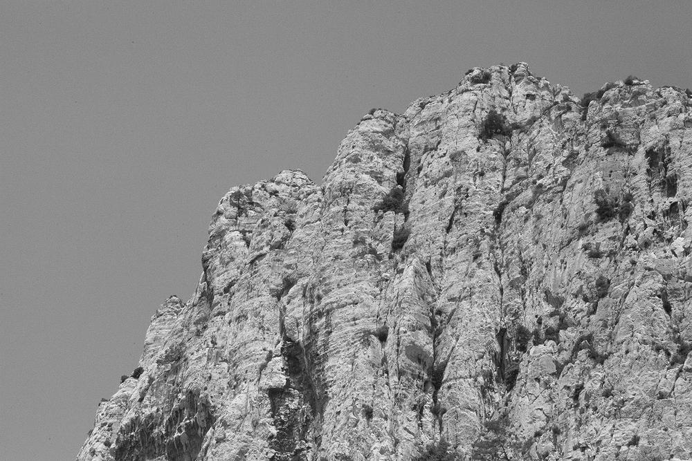 A travers une plaque à gouffre, #2, Marseille, 2015