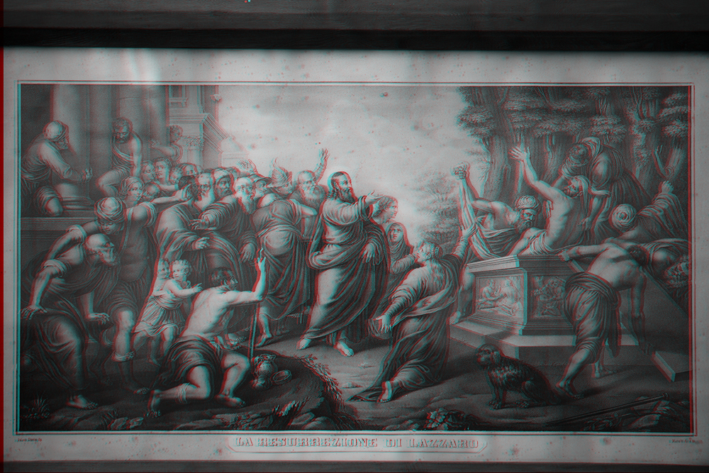 La resurrezione di Lazzaro, 2016.