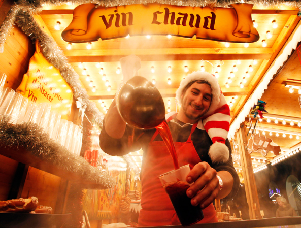 Vin Chaud is just Gluhwein by another name!