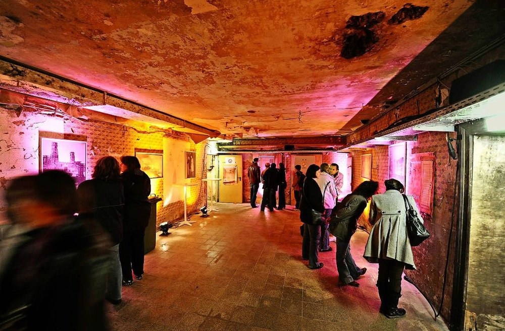 The Bunker Hotel is only open to the public one night out of the whole year!