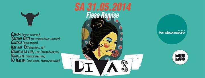 female:pressure meets DIVAS Berlin presented by MUGMUG