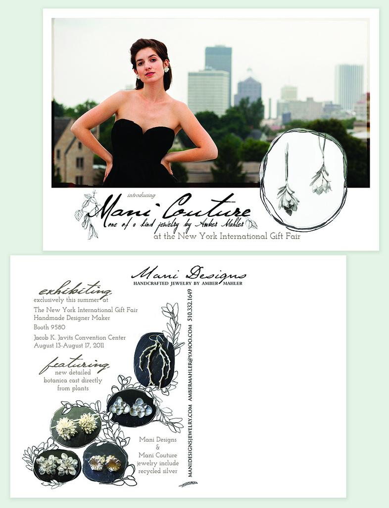 Mani Couture Postcard