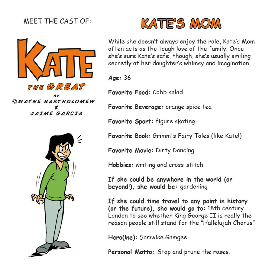 Kate's Mom Bio