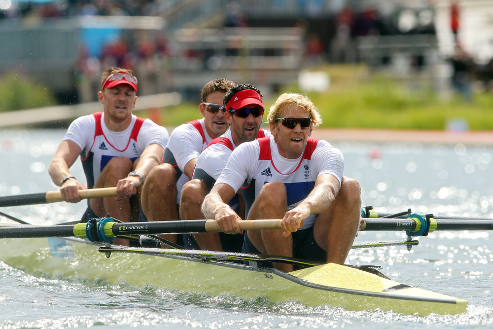 Rowing to Olympic Gold