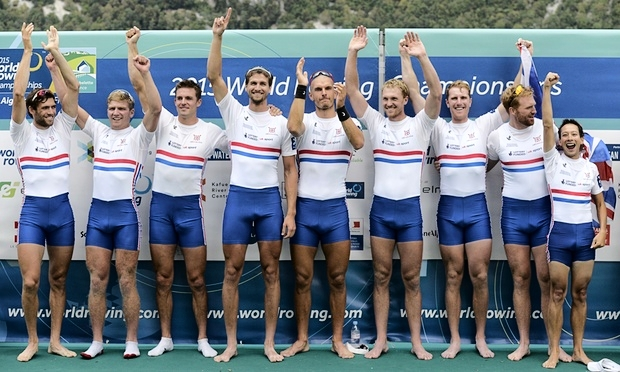 World Champion M8+ Great Britain...