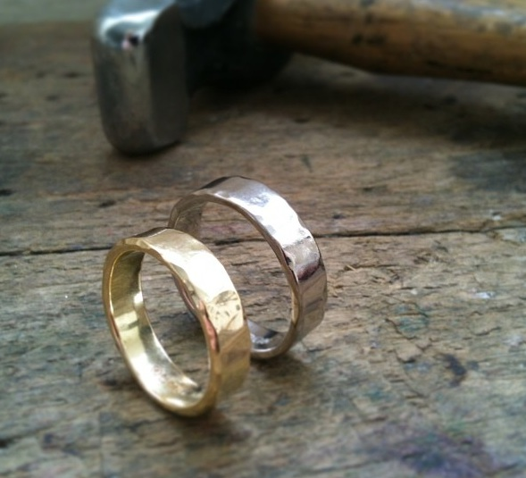 Handmade wedding rings wales