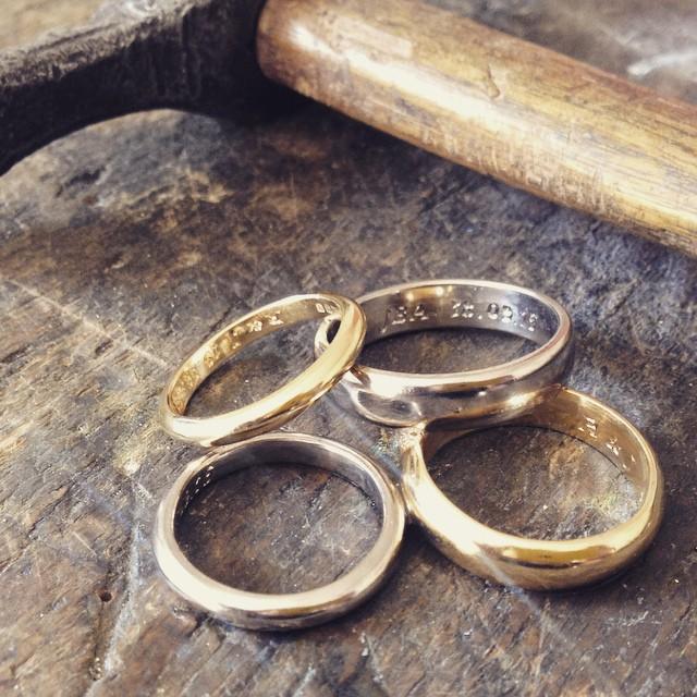 Make your Own Wedding Rings workshops The Quarterworkshop