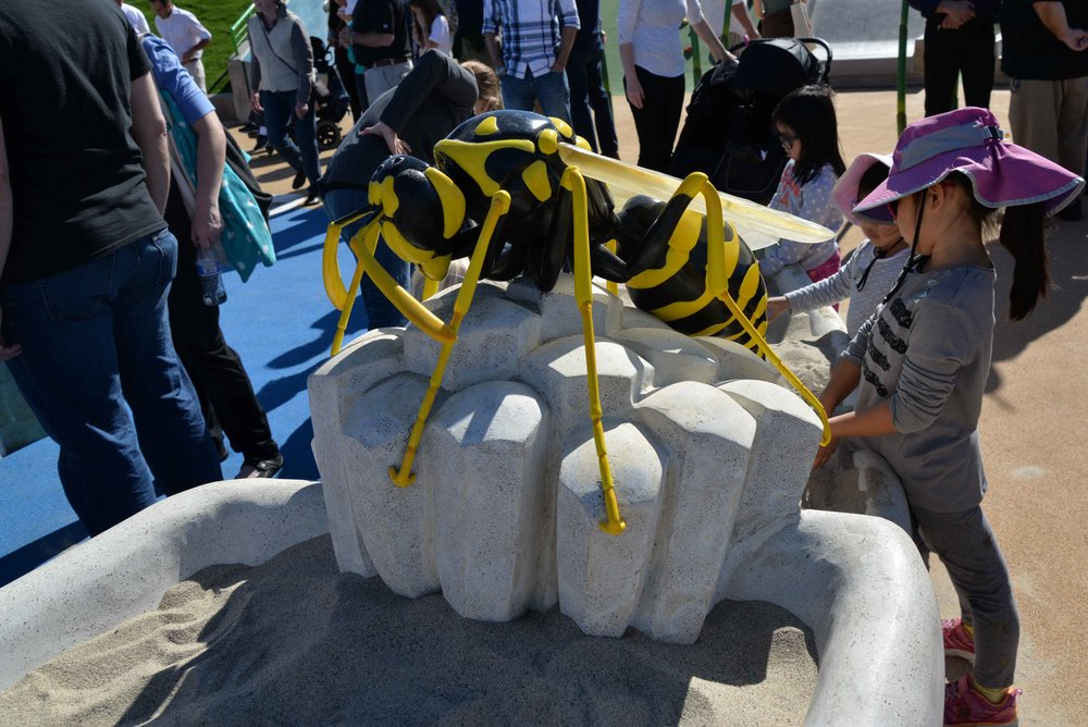 Giant Wasp Sculpture