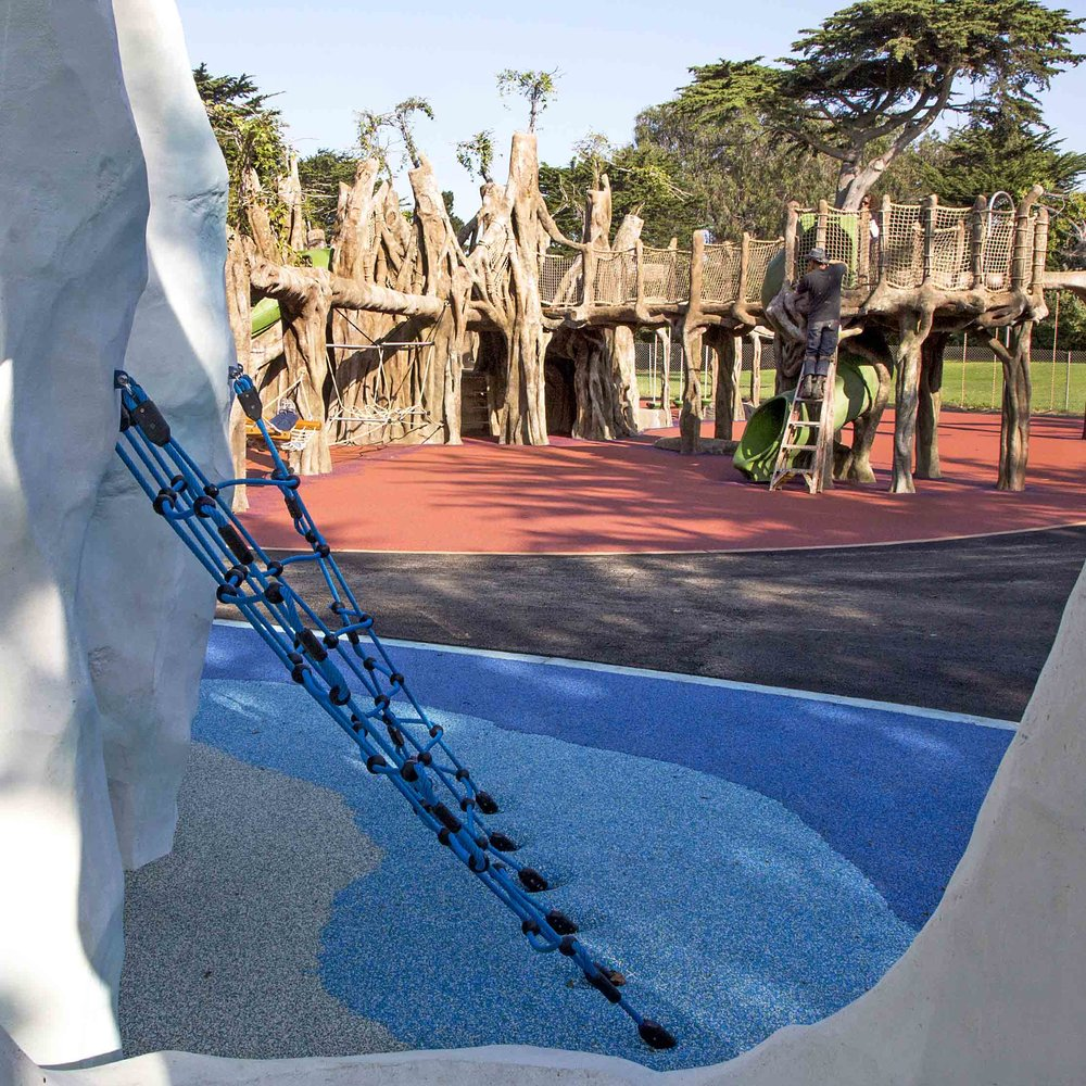 San Francisco Zoo & Gardens : Elinor Friend Playground  San Francisco, CA
