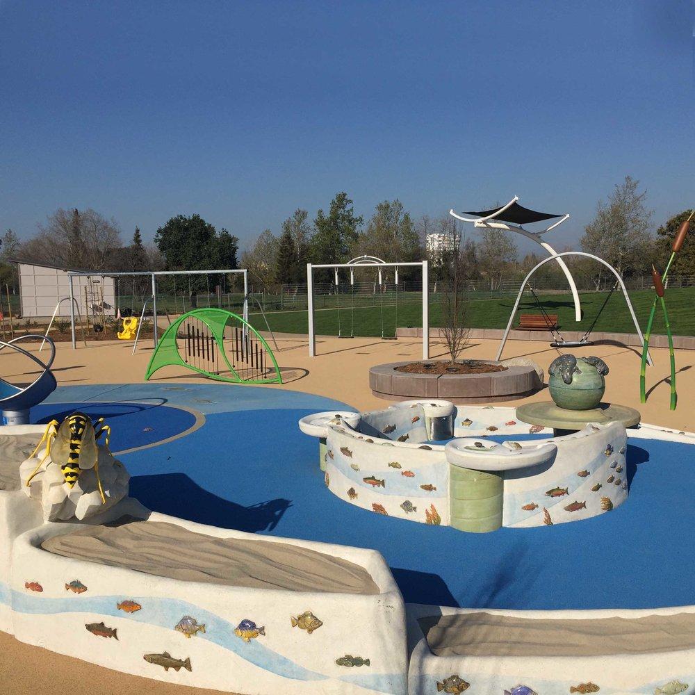 San Jose Rotary : Guadelupe Park Children's Play Garden,  San Jose, CA