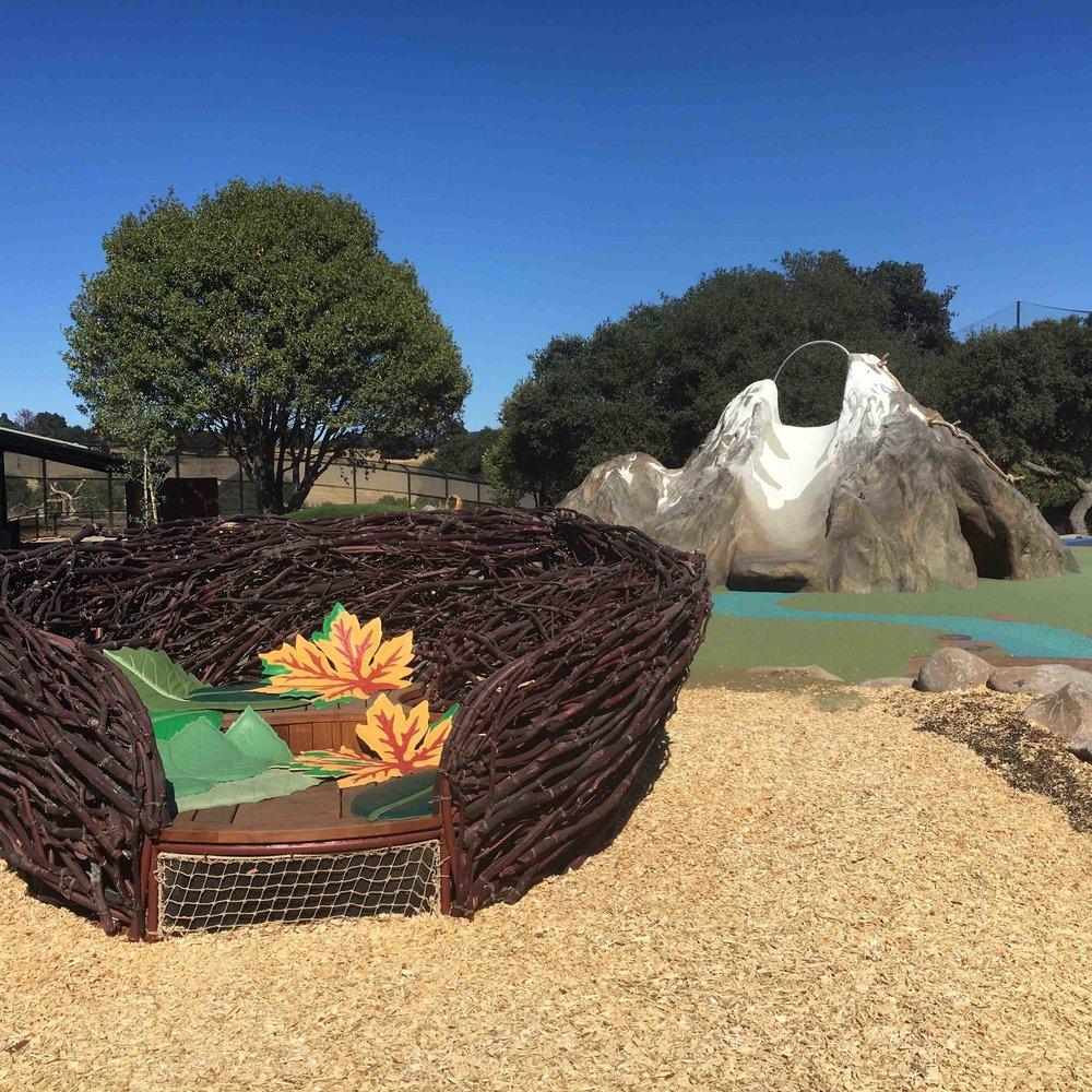 Oakland Zoo : California Wilds! Playground  Oakland, CA