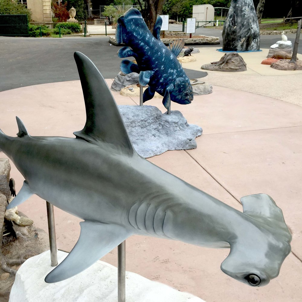 San Francisco Zoo & Gardens : Sculpture Learning Plaza  San Francisco, CA
