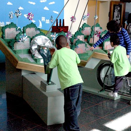Randall Museum : Solar Energy Exhibit  San Francisco, CA