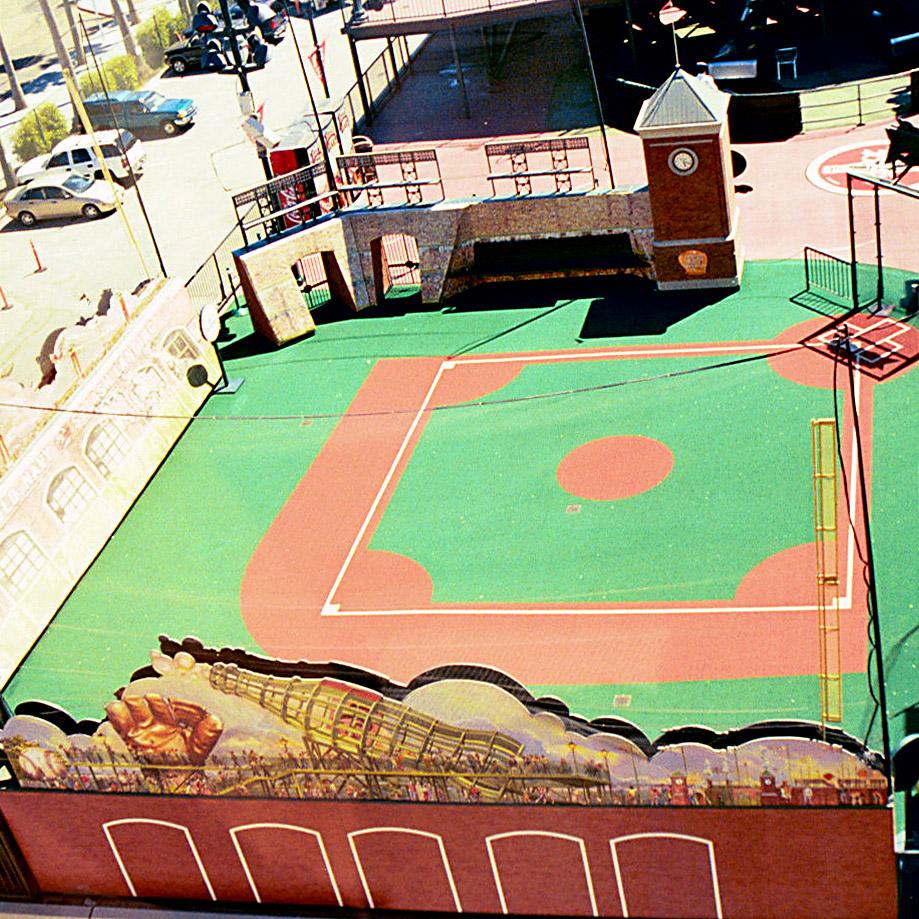 Coca Cola, Oracle Park : San Francisco Giants Mini Ballpark  San Francisco, CA