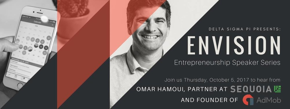 Envision: Omar Hamoui, Partner at Sequoia Capital