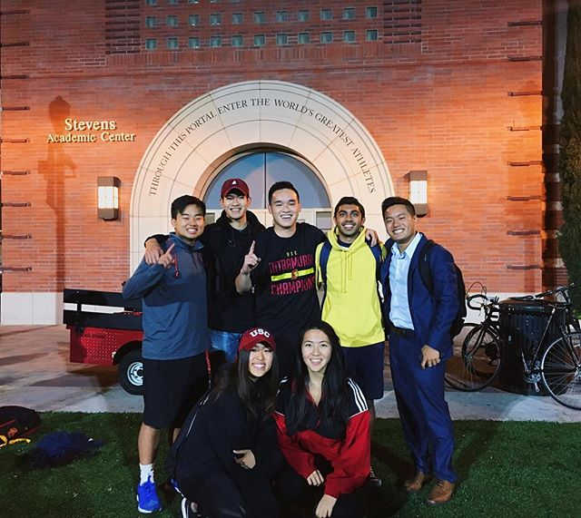 Congrats to Brother Nick Nguyen for the win tonight! VPPE by day, advance intramural soccer champion by night. 😤⚽️🏆 #dsp #phi #brotherhood #fifa
