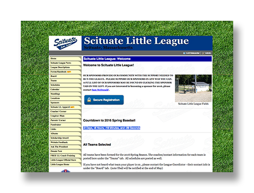 Scituate Little League