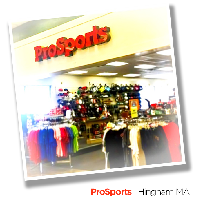 We were extremely sad to hear of the recent closing of Hingham's ProSports.