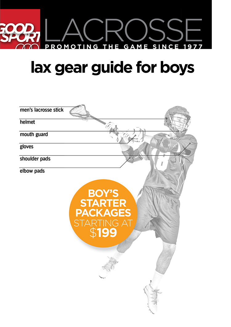 Lax equipment for boys