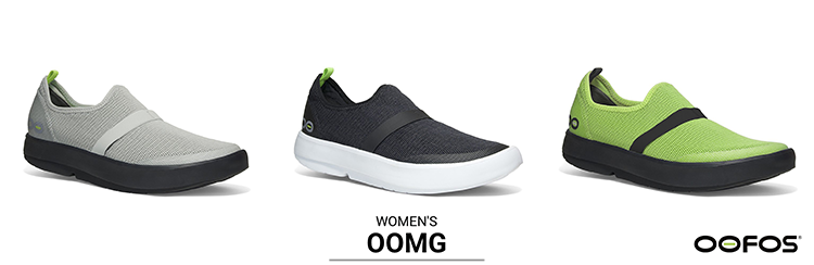 The OOFOS patented  footbed  design you know and love with a 4-way stretch mesh upper.