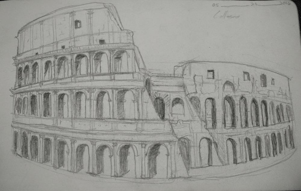 The Coloseum © 2016 David Harrop