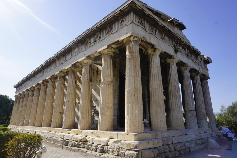 Temple of Hephaestus, Athens, Greece © 2016 David Harrop