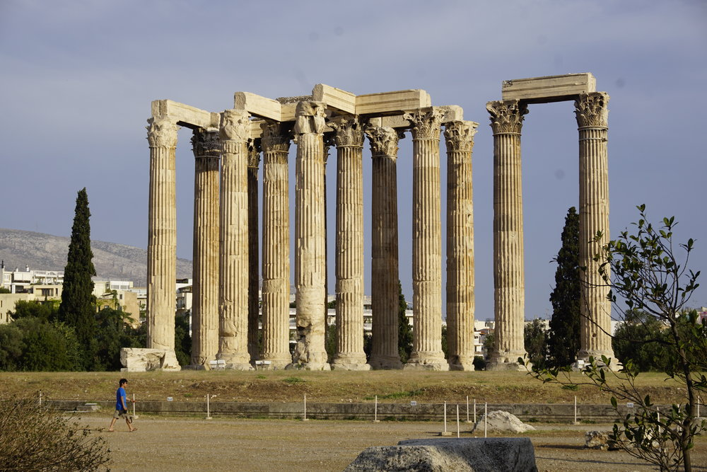 Temple of Olympian Zeus, Athens, Greece © 2016 David Harrop