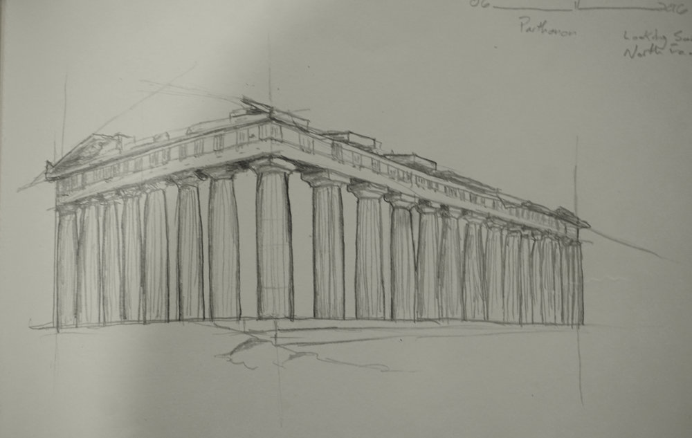 The Parthenon, Athens, Greece © 2016 David Harrop