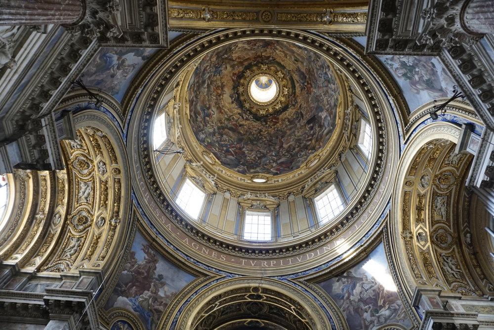 Sant'Agnese in Agone in Rome, Italy