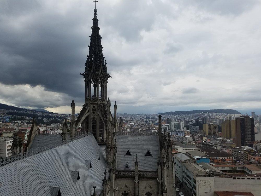 Basilica del Voto Nacional, Quito, Ecuador.