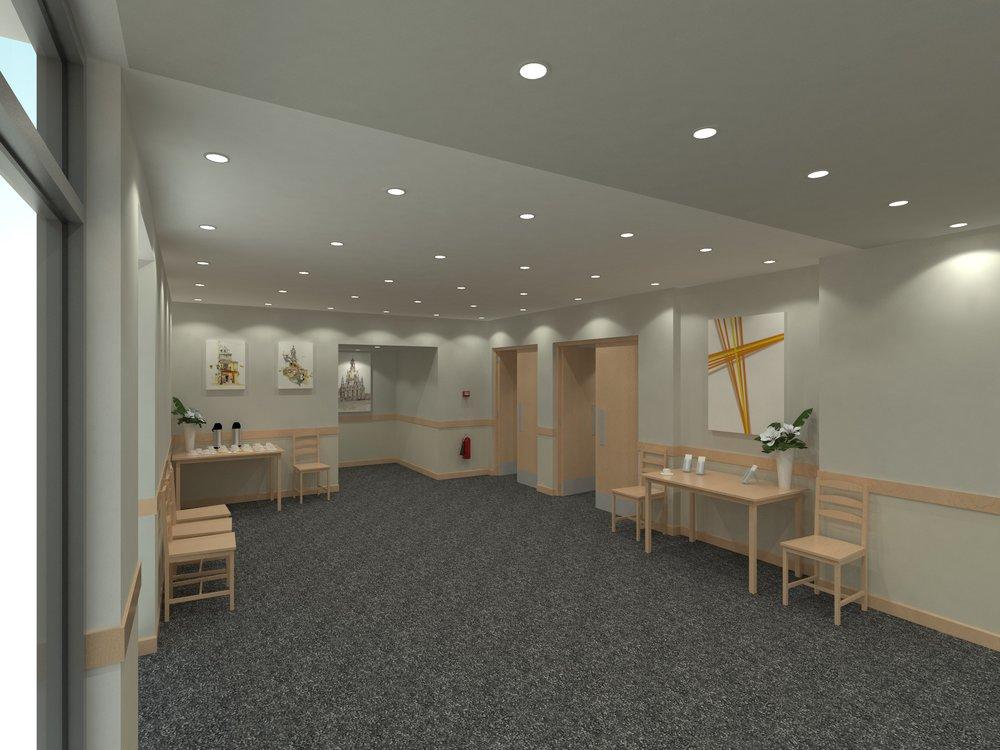 Interior design scheme