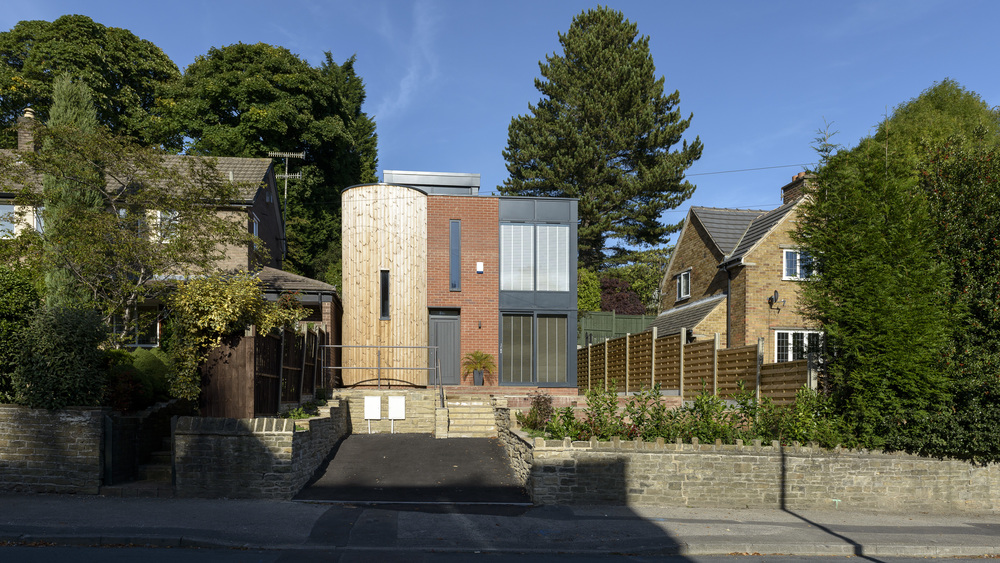 Elevational View of 'Eco' Home, Osborne Road, Sheffield