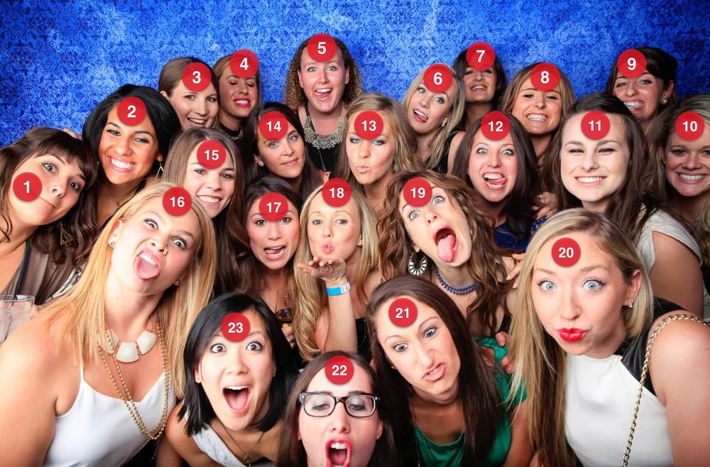 san francisco open air photo booth rental - it's a huge party!