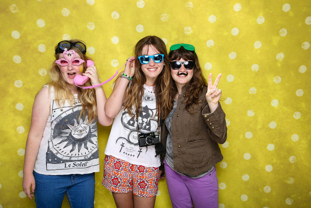 silly glasses photo booth props