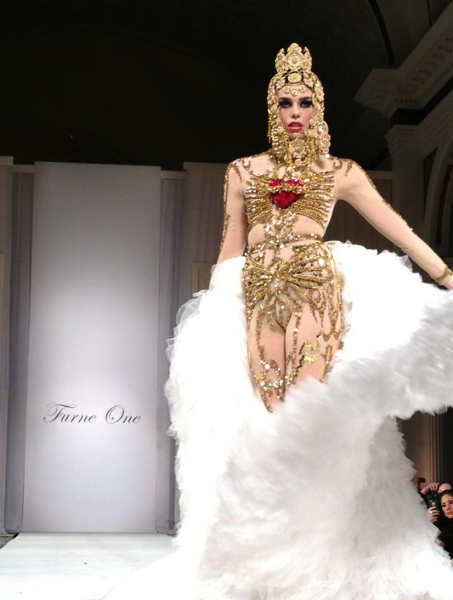 Raina Hein Fashion Model