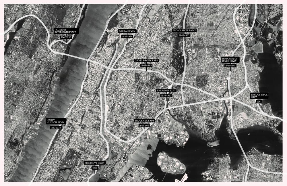 Highway Timeline 1908-1972