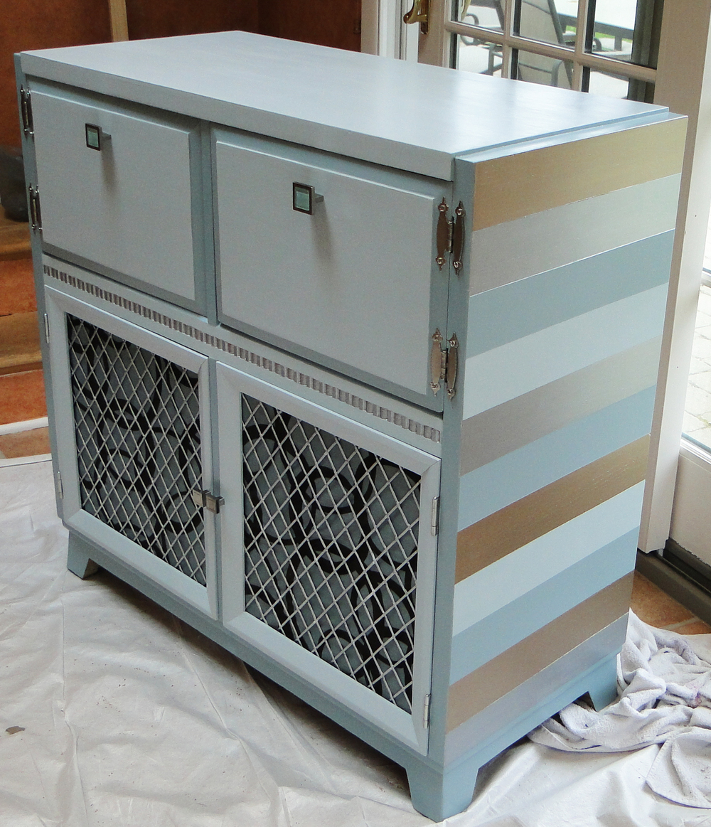 Re-imagined TV cabinet