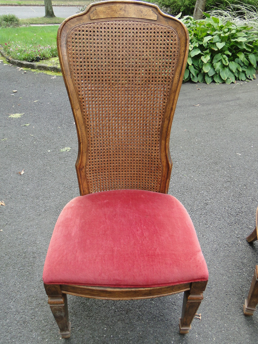 """Before"" photo of chair"