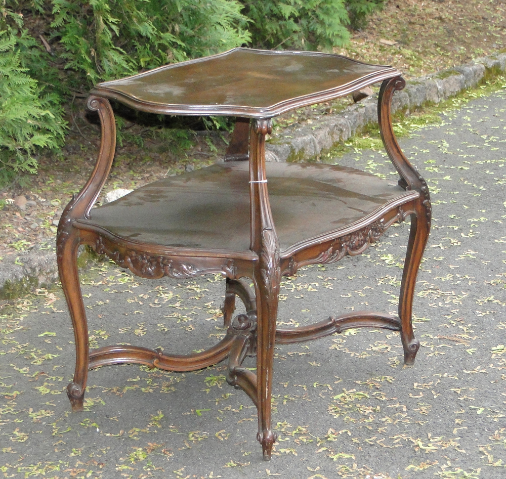 Fancy TieredEnd Table