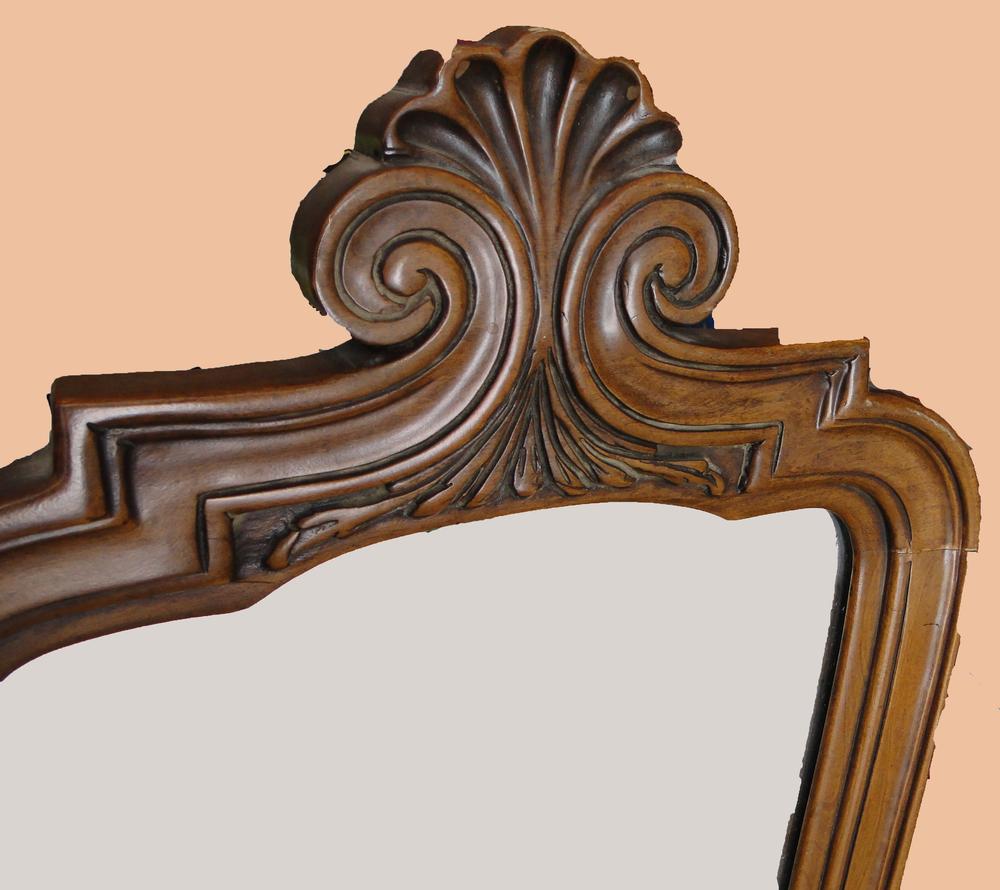Tall Curvy Mirror