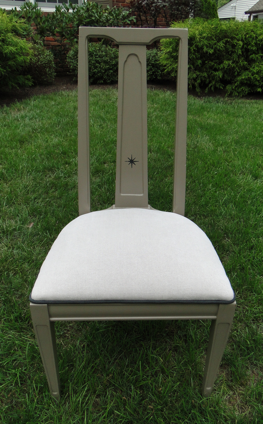 """Chair customized for """"Style Delivered"""""""