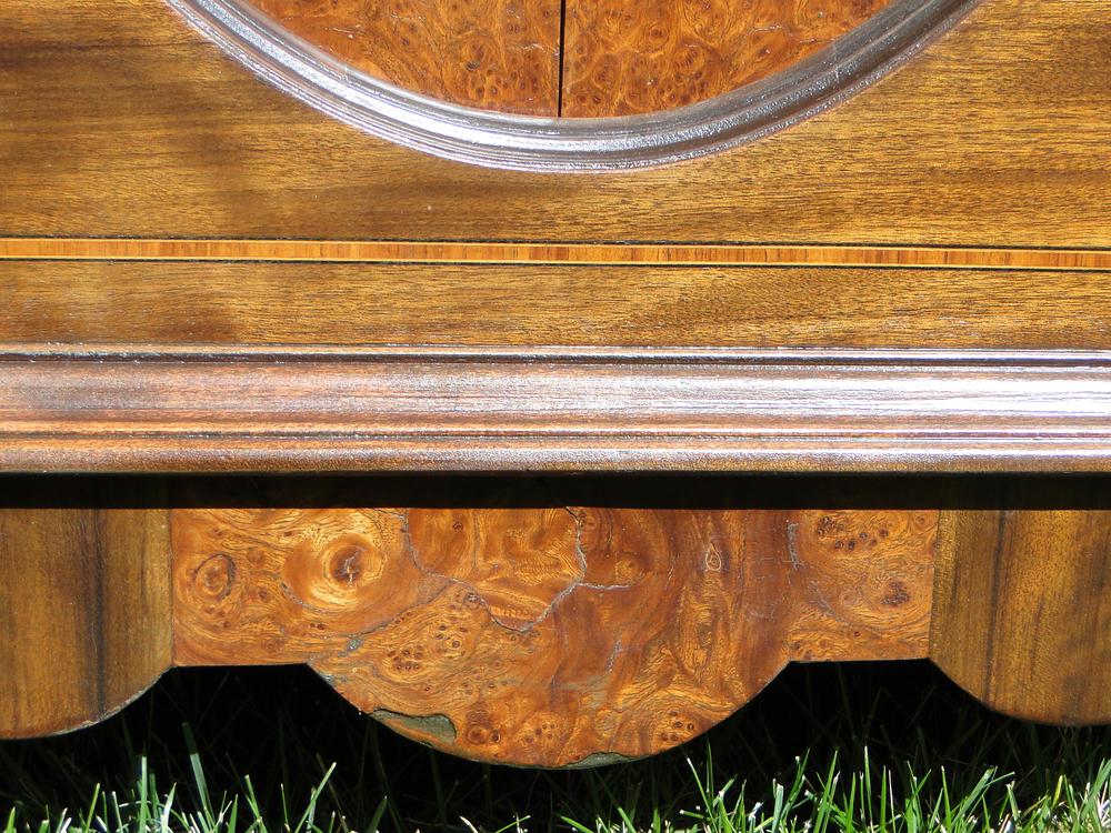 Beautiful burled wood