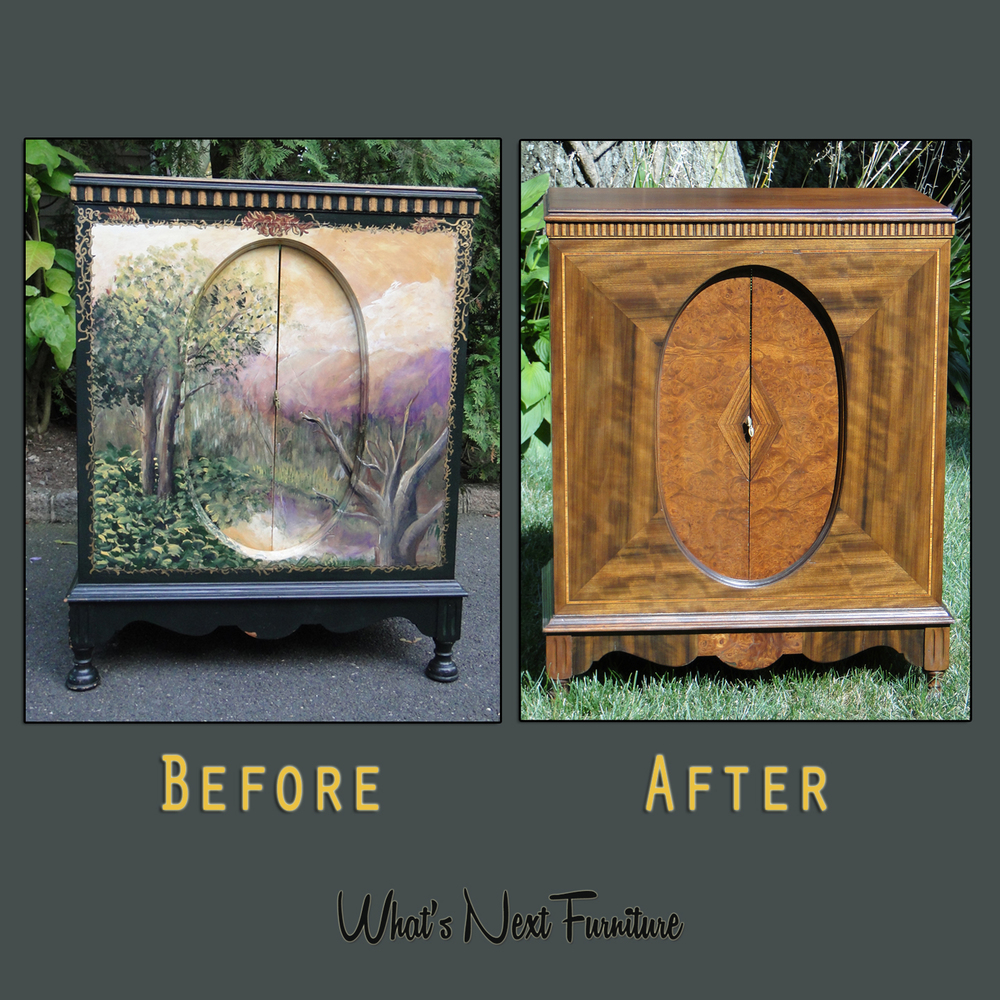 Intricate wood cabinet Smelkinson before after square grey.jpg