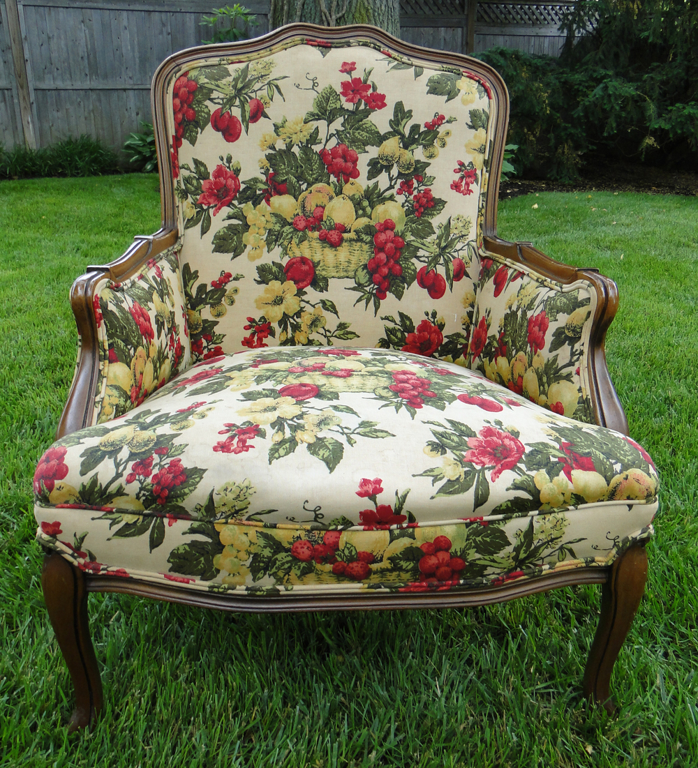 Classic Upholstered Arm Chair