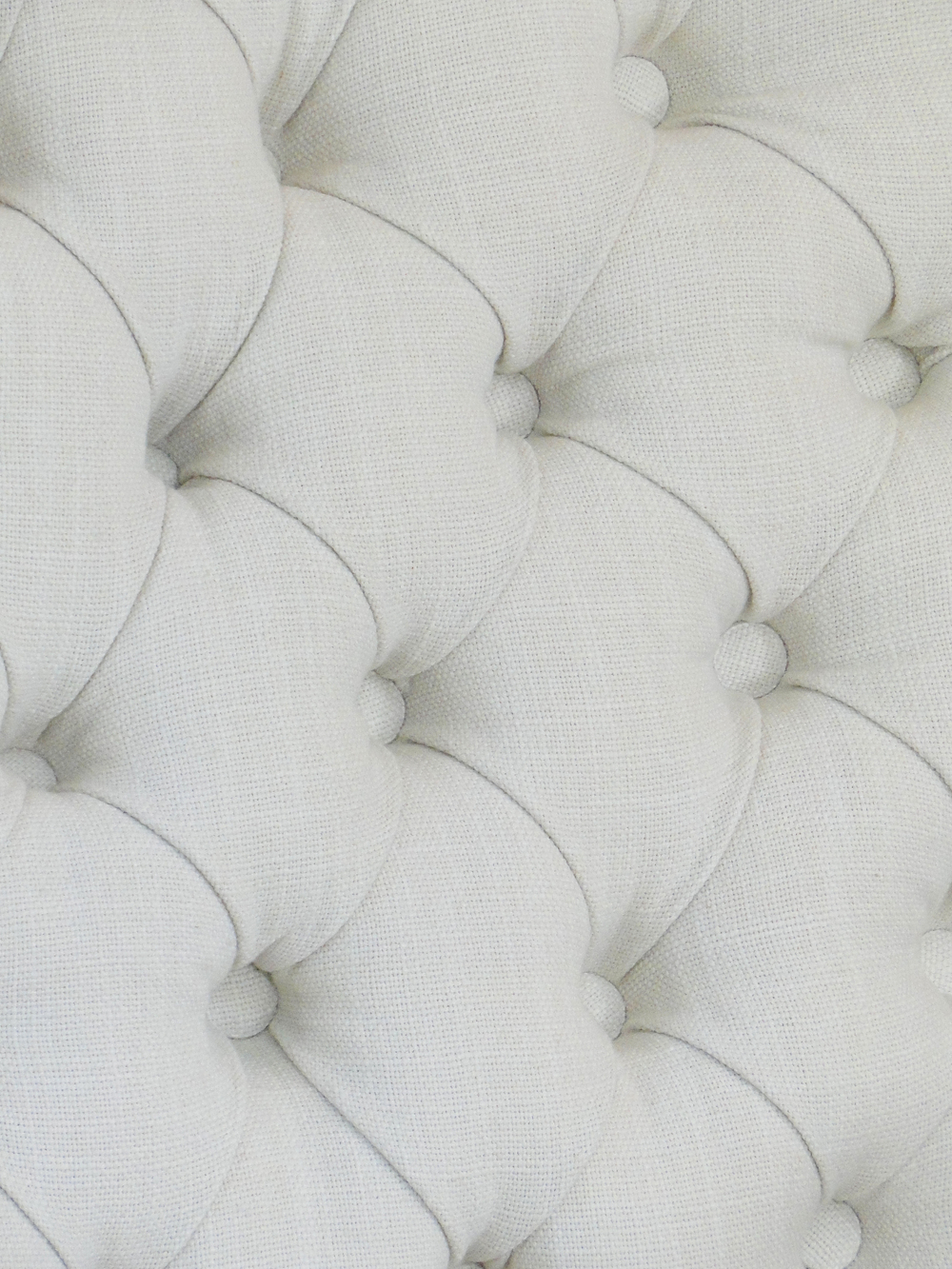 Close up of tufted back