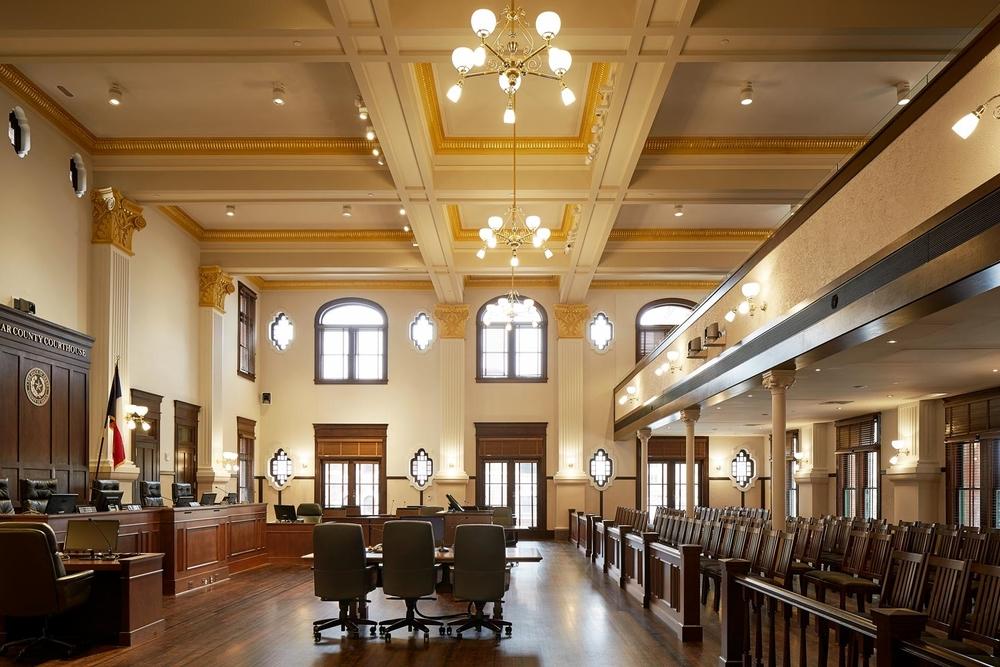 Bexar County 1896 Courtroom Restoration
